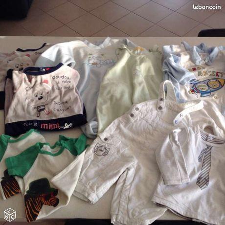 5737b79b4ecc2 Vêtements bébé occasion Corse - nos annonces leboncoin