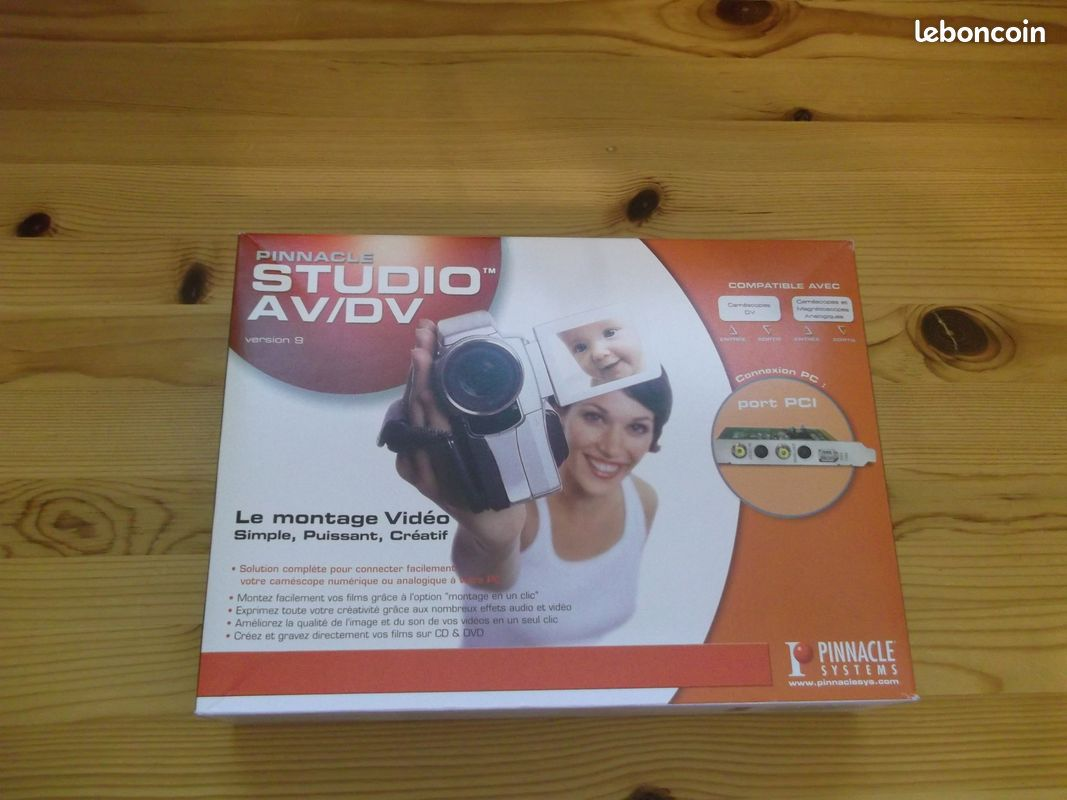 Pinnacle studio tout neuf et emballé