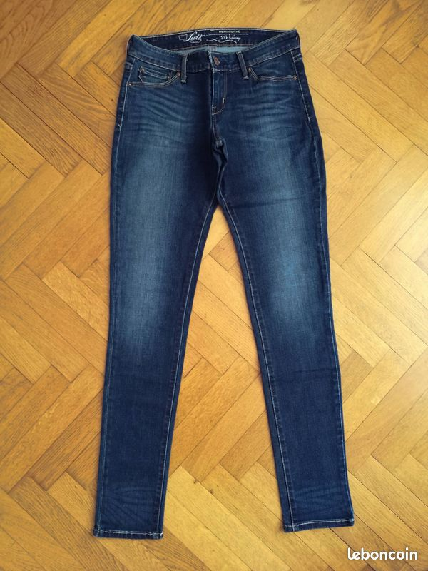 Jean levi's demi curve skinny w26 l34