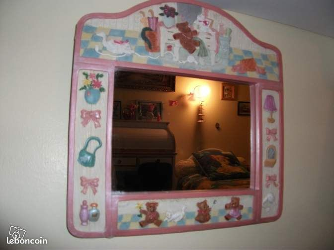 Miroir d coration alpes de haute provence for Miroir de peine
