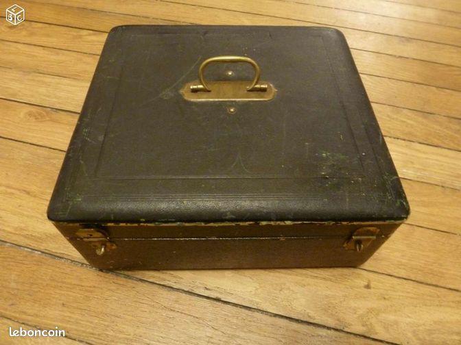Ancien coffret cuir pour couverts en argent 19 me arts de la table hauts de - Couverts en argent anciens ...
