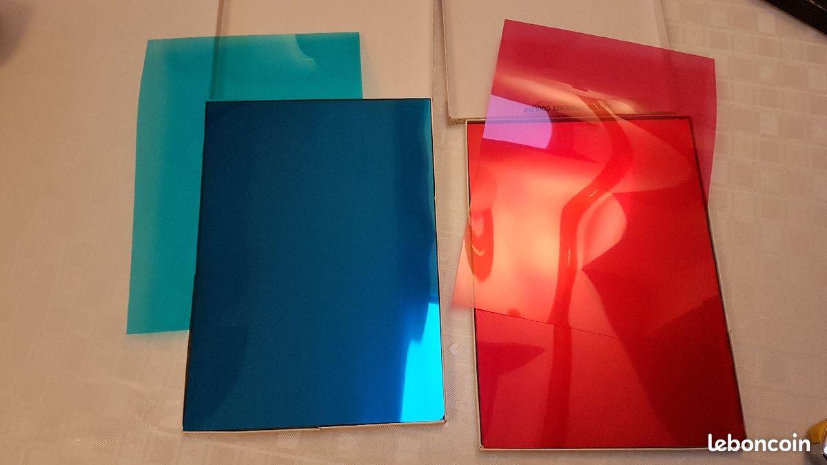 Transparent couleurs pour photocopieur