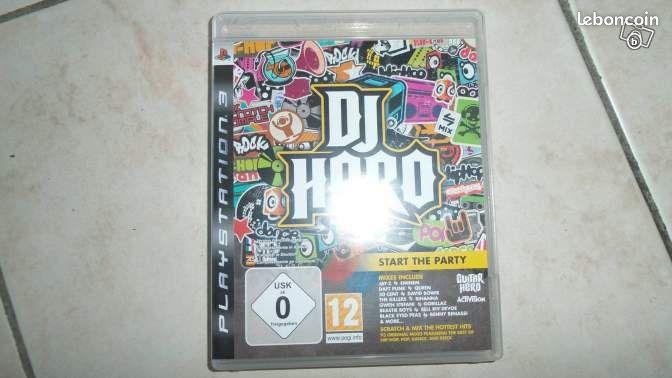 Dj hero ps3 neuf - Orchies - Dj hero ps3 neuf vendu sans platine Uniquement par téléphone  - Orchies