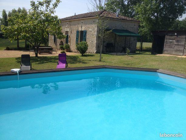 OFFRE SEPTEMBRE-Maison de campagne avec piscine privée