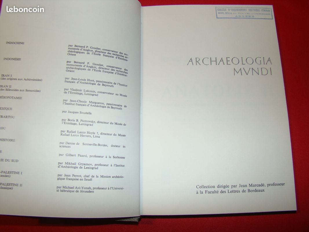 Archaeologia mvndi metzger ed nagel 1969 fdpg