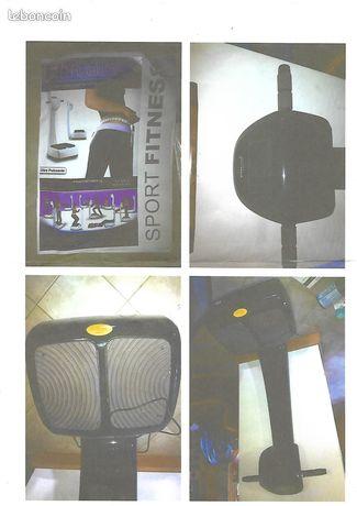Power plate oscilliante