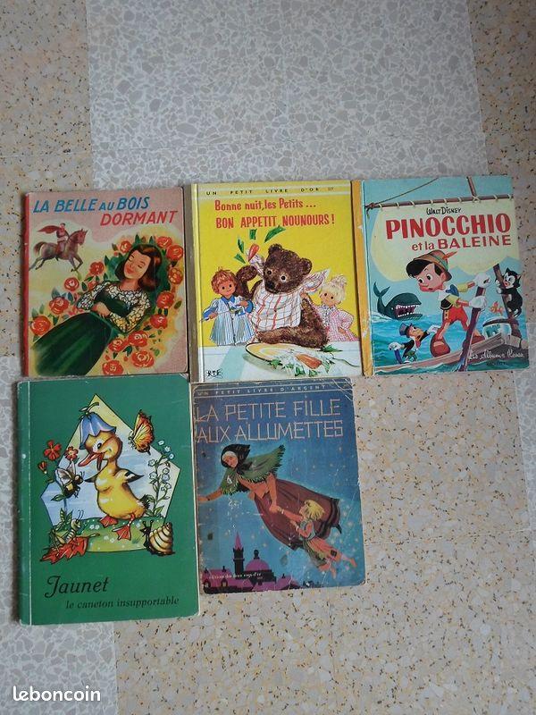 Livres enfants vintage