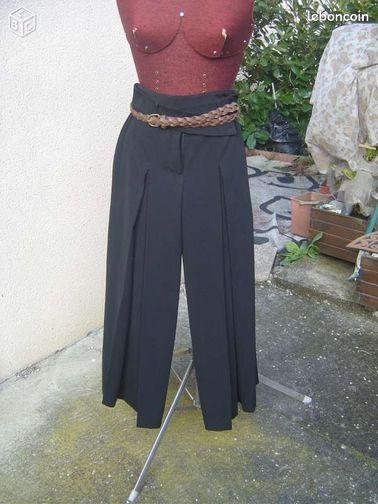 Pantalon jupe large noir t36 camaieu neuf plis v tements - Colissimo agence haute garonne ...