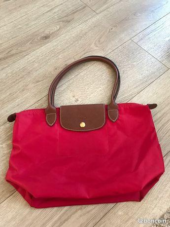 Sac Longchamp Pliage rouge