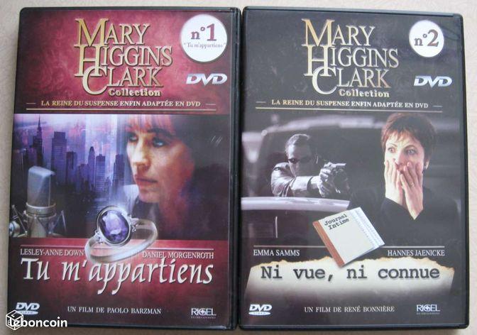 Mary Higgins Clark DVD  Films CôtedOr  leboncoinfr