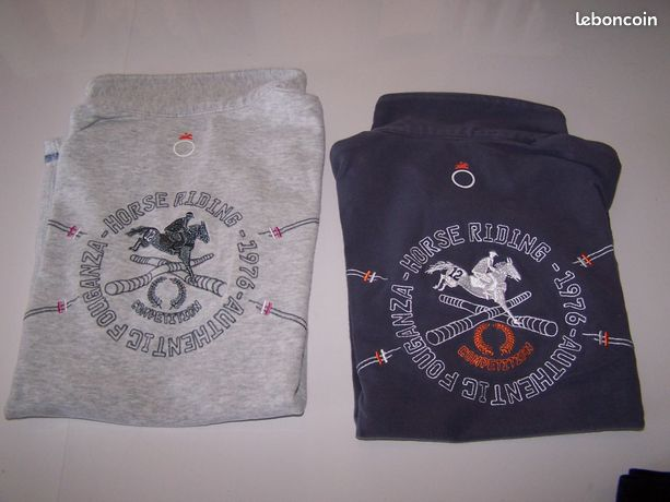 Vêtements enfants équitation - Roanne - Vends : - Pantalons 4, 8 et 12 ans - Polos 6 ans (bleu), 10 ans (gris) 5€ pièce Envoi possible à votre charge Mes autres annonces : BOUFFERET  - Roanne
