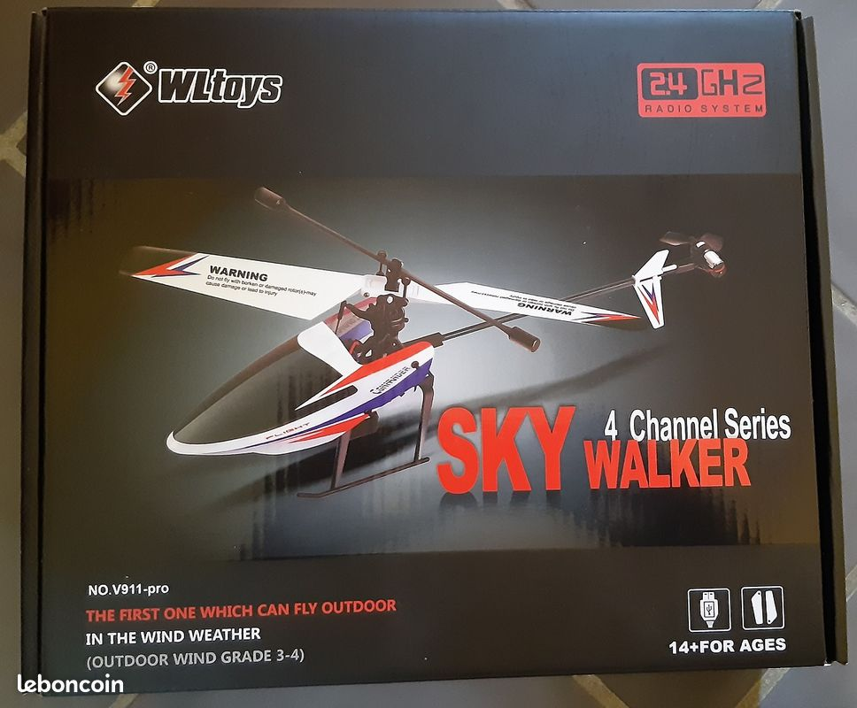 Helico rc sky walker 4 channel