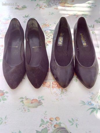 Paires de chaussures femme