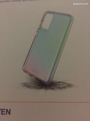 Coque Samsung Galaxy S20 5G iridescent rainbow neuf