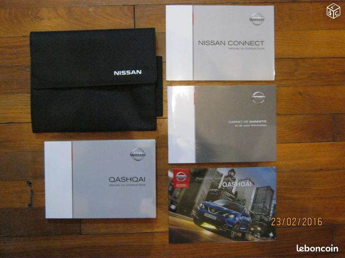 nouveau qashqai nissan notices carnet pochette equipement auto marne. Black Bedroom Furniture Sets. Home Design Ideas