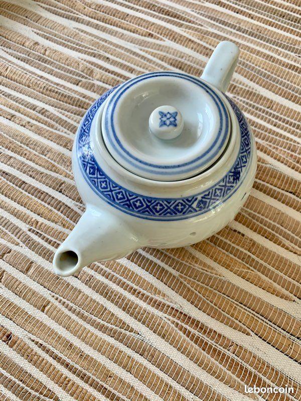 Théière chinoise «grains de riz»