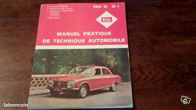manuel technique auto peugeot 304 304 s livres maine et. Black Bedroom Furniture Sets. Home Design Ideas