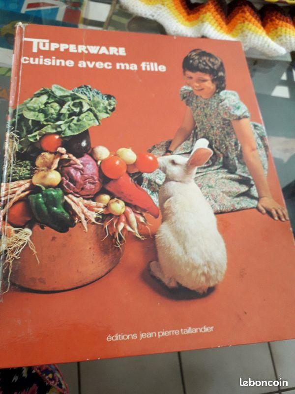 Livre cuisine tupperware