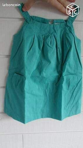 Robe été verte - 24 mois (scalvare)