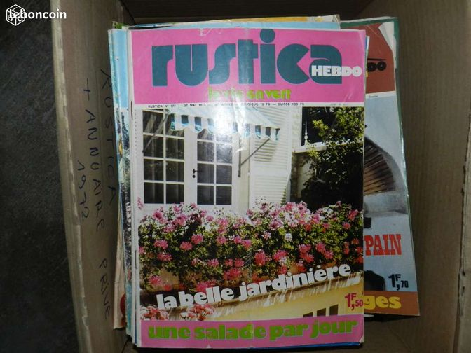 Magazine rustica jardinage ni vre for Magazine jardinage