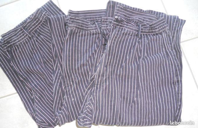 Pantalon bragard annonces d 39 achats et de ventes trouver for Pantalon de cuisine bragard
