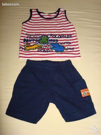 c306babdff1bf Vêtements bébé occasion Lot - nos annonces leboncoin