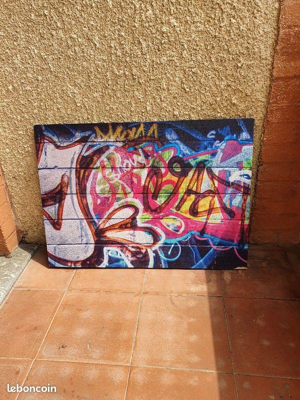 Tableau moderne graffiti