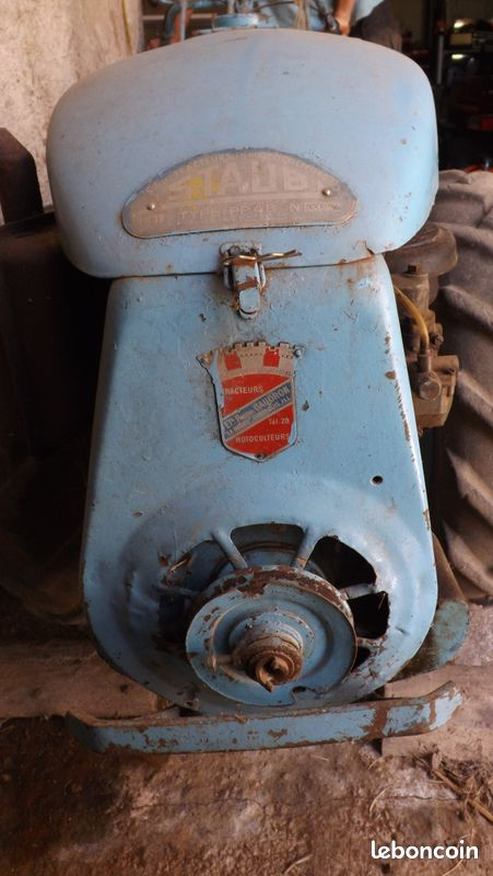 Motoculteur Staub PP4B
