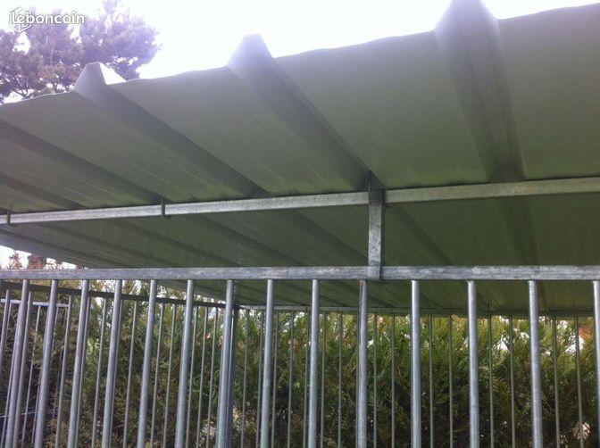 kit toiture complet pour chenil box chien 3m 2m animaux. Black Bedroom Furniture Sets. Home Design Ideas