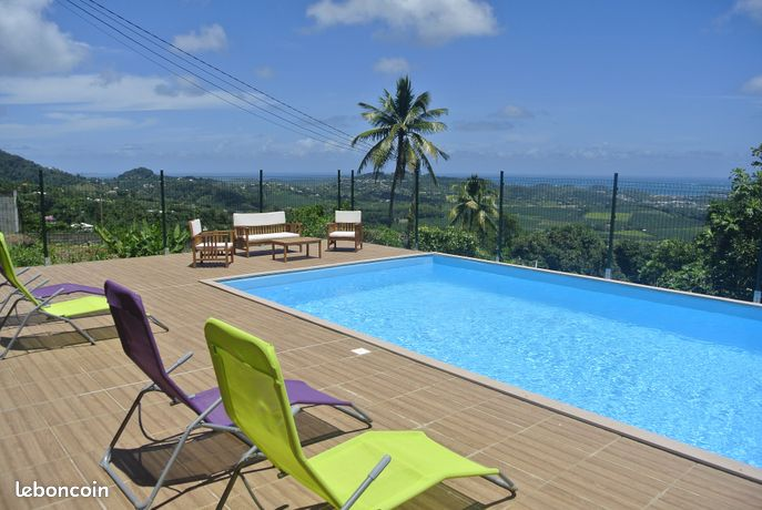 Bel appartement T2 vue mer avec piscine vue mer
