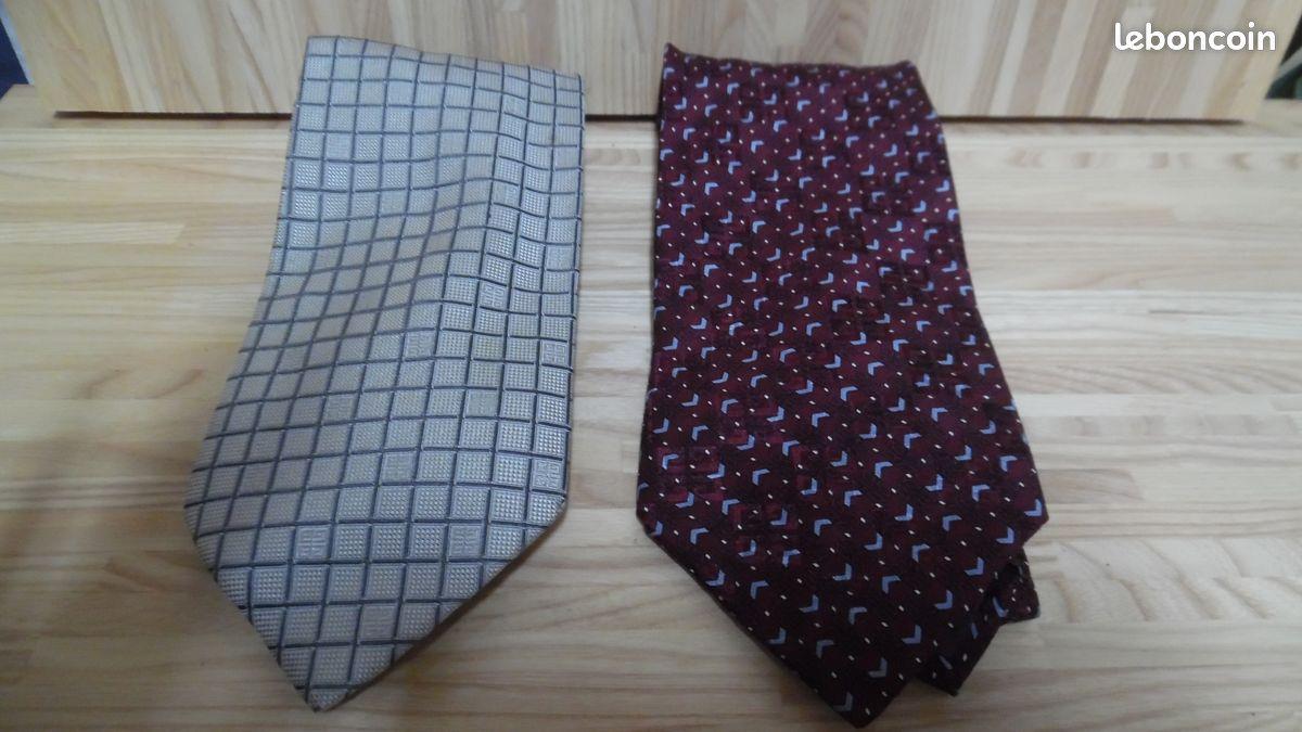 2 cravates givenchy