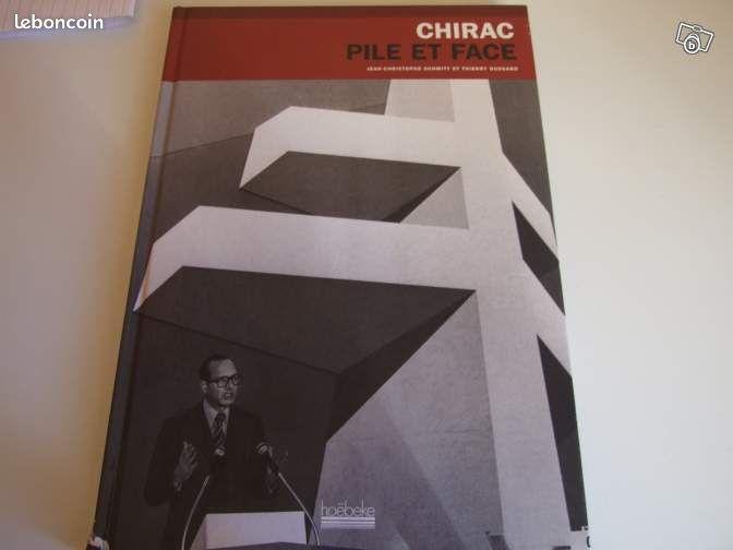 Chirac pile et face - Helfaut - VENDS LIVRE CHIRAC PILE ET FACE 120 FOLIOS 1 EURO PREVOIR FRAIS DE PORT SI ENVOI  - Helfaut