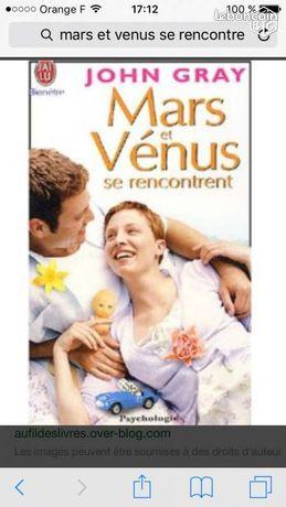 Mars et Venus se rencontrent - Aix-en-Provence - Livre de poche neuf: Mars et Venus se rencontrent. John Gray célèbre dans le monde entier tous ses livres sont des Best- sellers! Les séminaires de thérapies conjugales qu'ils organise depuis plus de 20 ans ont fait sa réputation! M - Aix-en-Provence