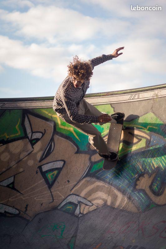 Cours particulier professeur de skate skateboard cruiser
