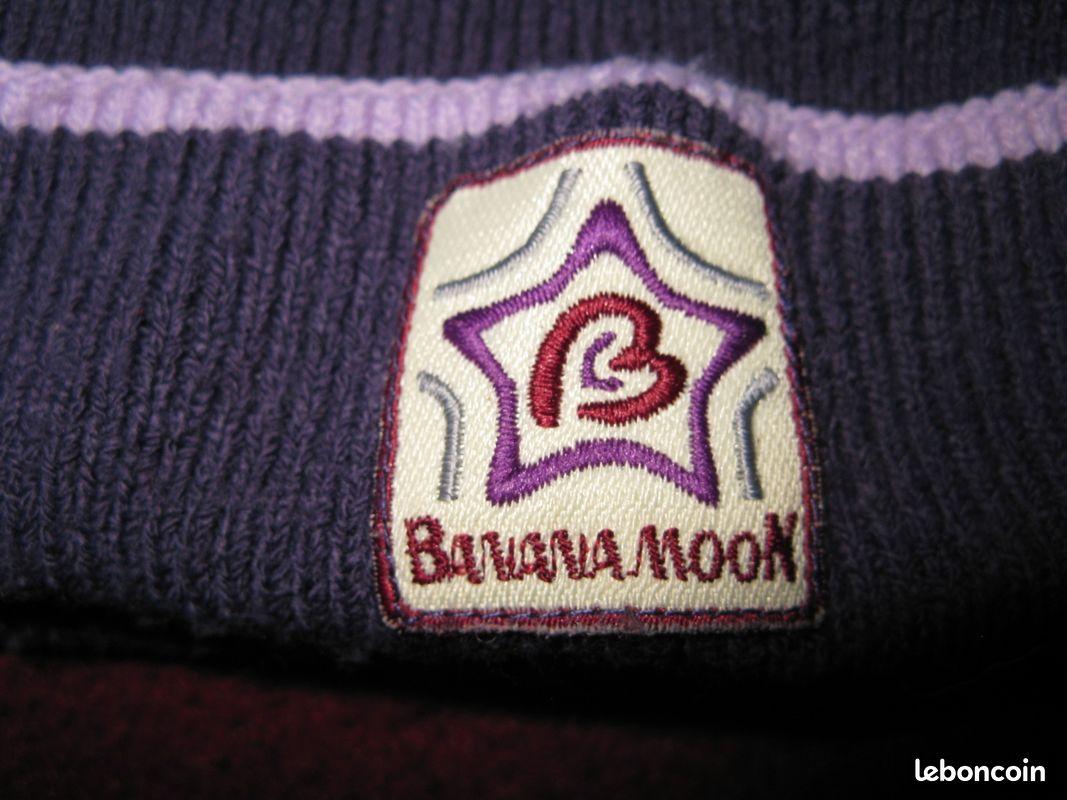 Lot Écharpe et bonnet banana moon