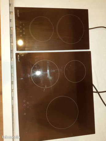 Plaque induction 2 feux
