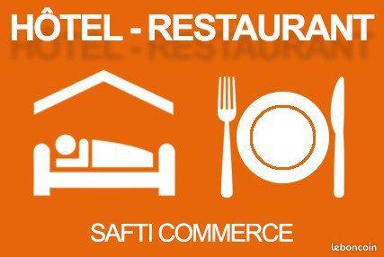 Commerce hôtel, restaurant 594 m²
