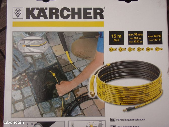 furet dboucheur de canalisation karcher prestations de. Black Bedroom Furniture Sets. Home Design Ideas