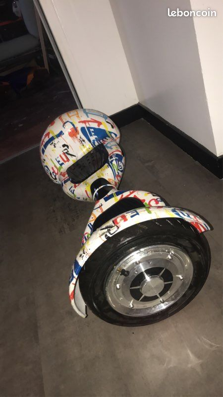 Hoverboard 10 pouces full led, blueetooth et sac