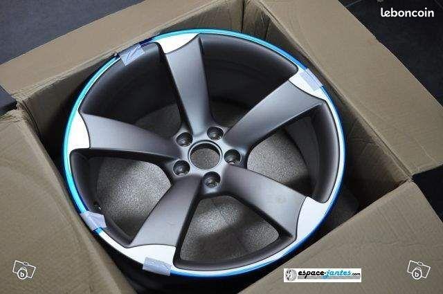 4 jantes alu type rotor audi rs5 en 18 promo equipement. Black Bedroom Furniture Sets. Home Design Ideas