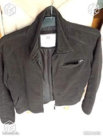 Manteau -  - Vends manteau en daim etat neuf jamais servi marque springfield taille M  -
