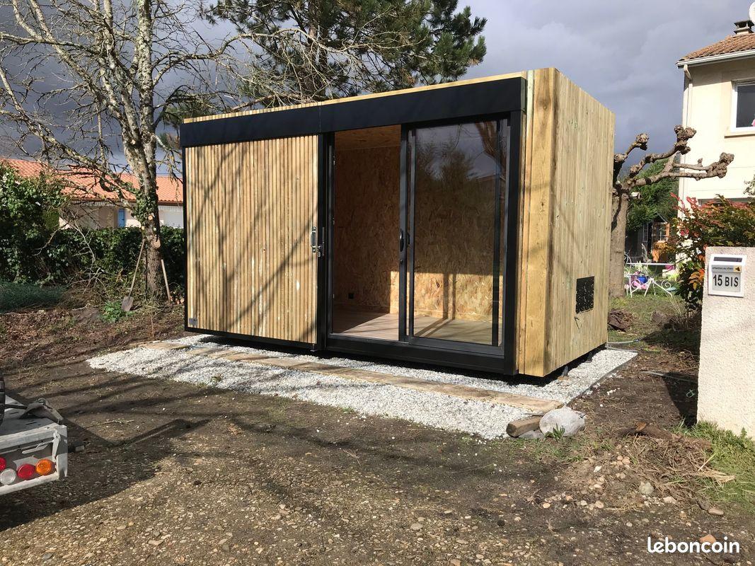 Revenu locatif / studio jardin / abri jardin / pool house / container / bureau / home working