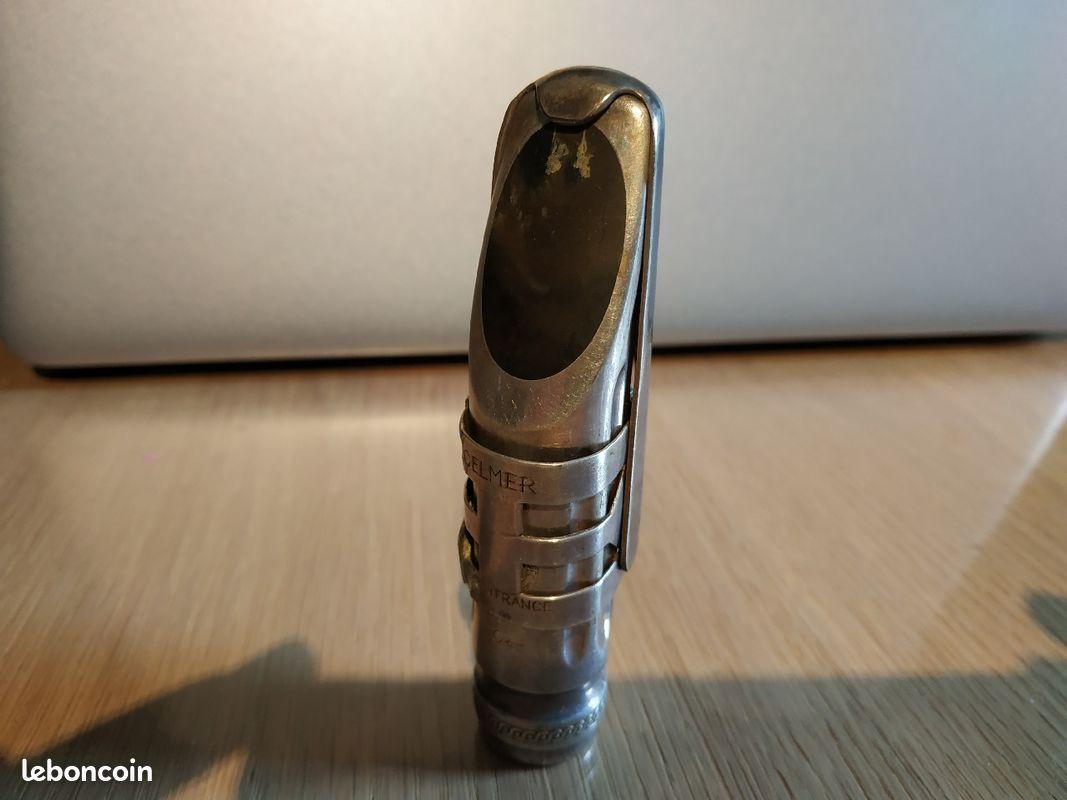Bec metal selmer saxophone ténor