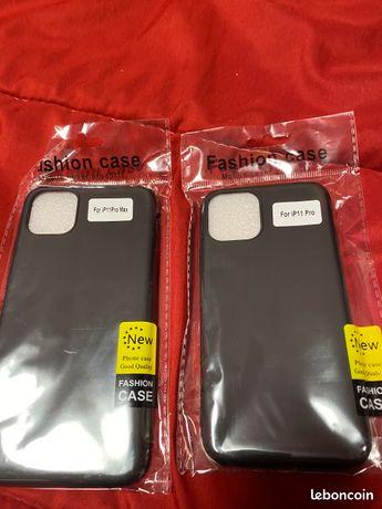 Coque souple noir iPhone 11 pro / 11 pro max neuve