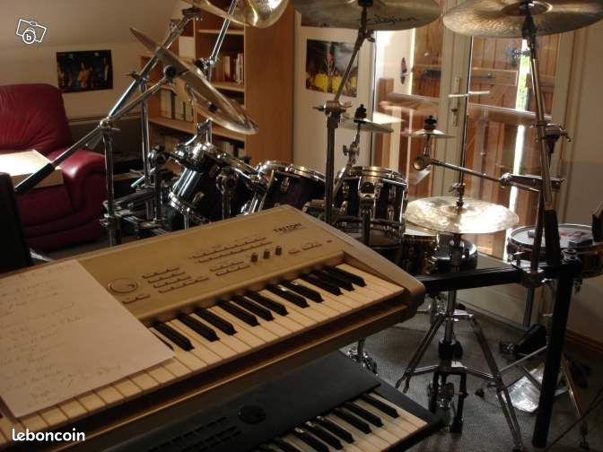 cours de piano synth et batterie pour d butants cours particuliers aube. Black Bedroom Furniture Sets. Home Design Ideas