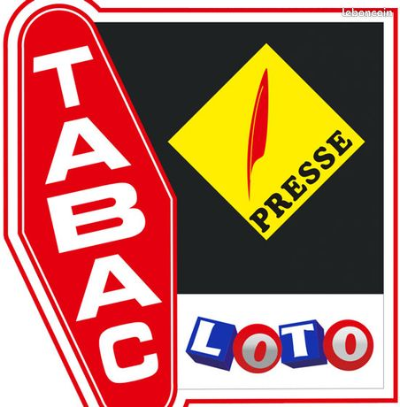 Commerce tabac, presse, FDJ 80 m²