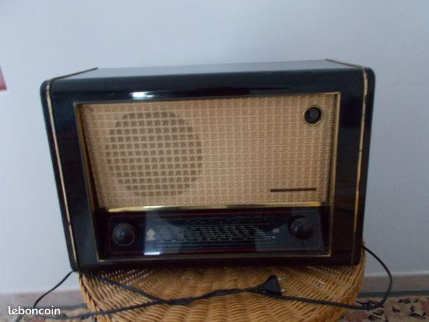 lot de 2 poste radio optalix des annees 60 vintage. Black Bedroom Furniture Sets. Home Design Ideas
