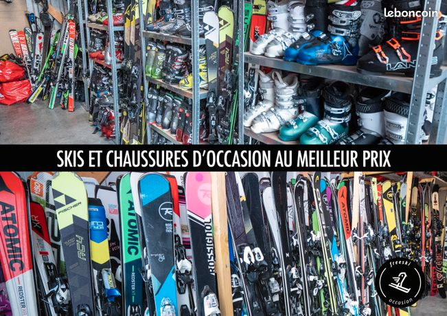 Skis snowboards chaussures de skis d'occasion