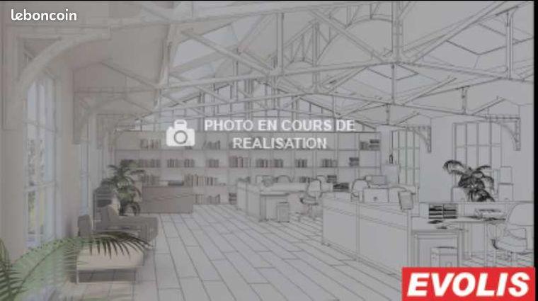 Bureau 268 m²