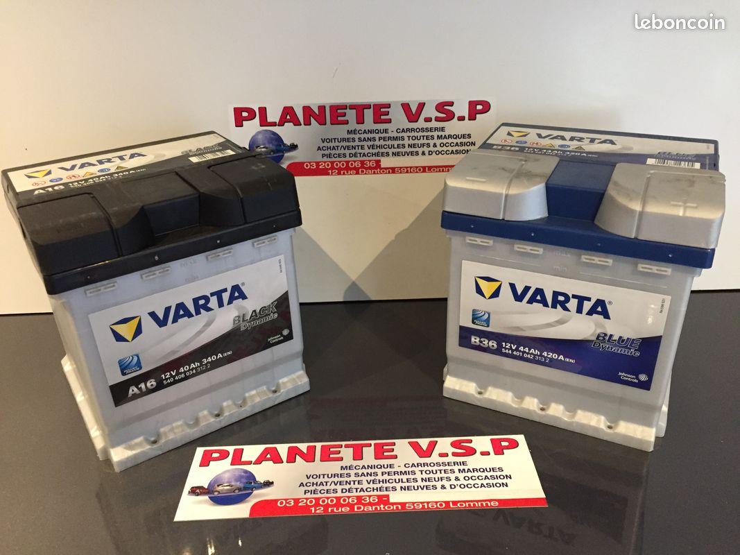 Batteries, cosses et fusibles pour véhicule sans permis